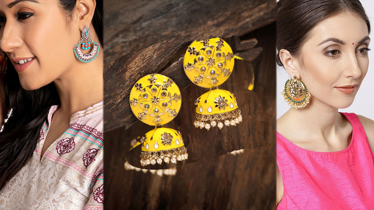 Earrings Within 500 From Myntra