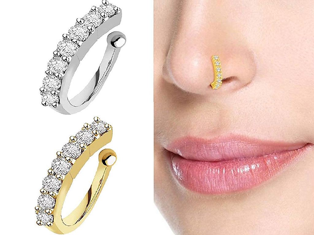 Sania Mirza Style Nose Ring Combo