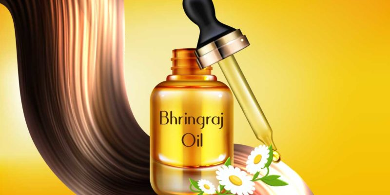 Bhringraj Hair Oil and luscious hair