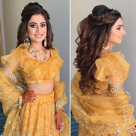Hairstyle For Engagement