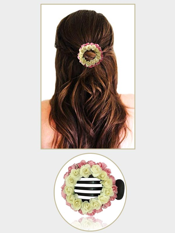 Claw Clips Floral Accessories