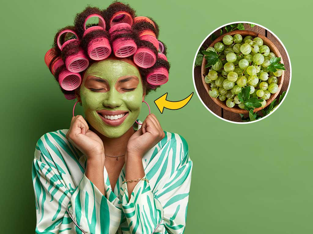 gooseberry face pack