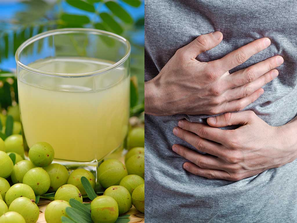 gooseberry stomach pain