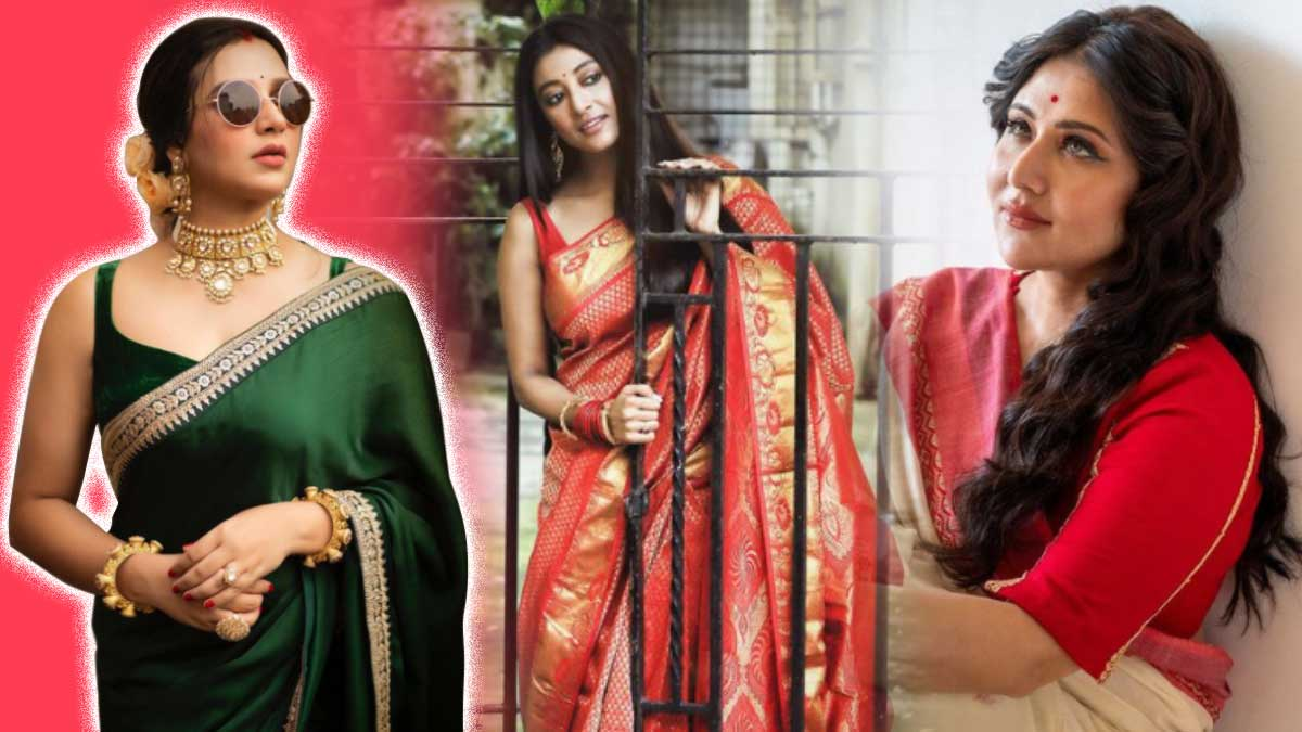 Instragram saree pictures of tollywood actress